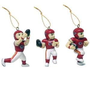 Kansas City Chiefs Football Player Ornaments Sports