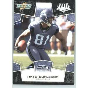 Edition Super Bowl XLIII Black Border # 284 Nate Burleson   Seattle