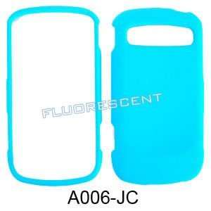 FLUORESCENT LIGHT BLUE CASE COVER SKIN FACEPLAT Cell Phones