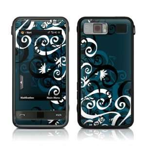 Midnight Garden Design Protective Skin Decal Sticker for Samsung Omnia