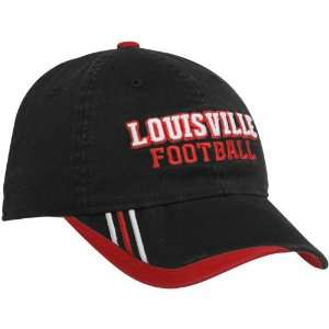 adidas Louisville Cardinals Black Football Player Slope