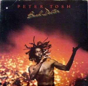 PETER TOSH Bush Doctor ORIGINAL ROLLING STONES LP