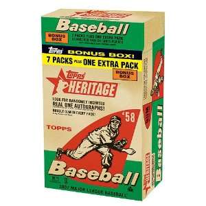 2007 MLB TOPPS HERITAGE VALUE BOX