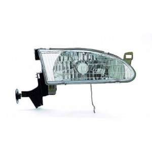 00 TOYOTA COROLLA HEADLIGHT ASSEMBLY, PASSENGER SIDE   DOT Certified