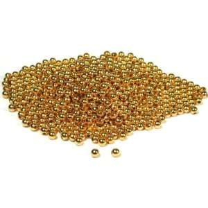 700 Gold Plated Ball Beads Round Stringing Beading 4mm
