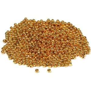 700 Gold Plated Ball Beads Round Stringing Beading 3mm