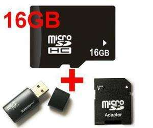 16GB Micro SD Card TF Memory SDHC Adapter Reader micro sd card