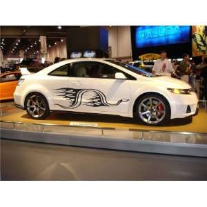 CAR VINYL SIDE GRAPHICS CHEVY SNAKE FIT ANY CAR