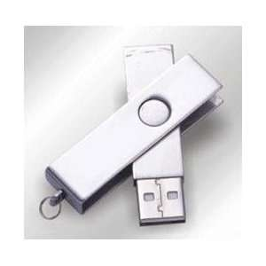 New 8GB Stainless Steel plug and play USB Flash Drive Electronics
