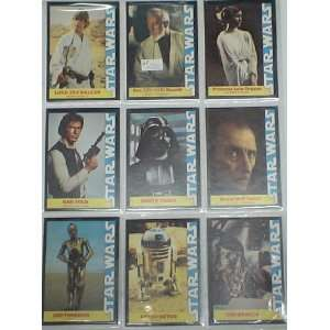B5 1978 LOT OF 16 STAR WARS TRADING CARDS