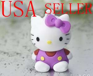 Hello Kitty 4 GB USB Memory Stick Flash Drive keychain