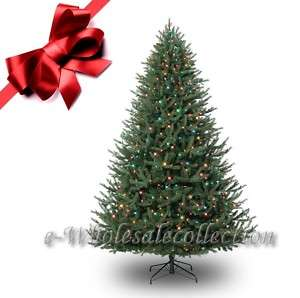 FT PRE LIT MULTI COLOR FULL ARTIFICIAL X MAS TREE 9