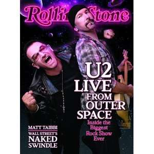 Bono and the Edge (of U2), 2009 Rolling Stone Cover Poster by Sam