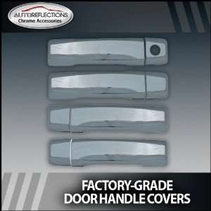 2004 2012 Nissan Titan Chrome Door Handle Covers (4dr w/o