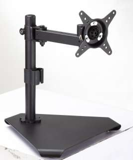 LCD Monitor Desk Stand Mount for up to 24 Monitors, extended arm 043