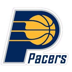 Indiana Pacers Team Auto Window Decal (12 x 10  inch)
