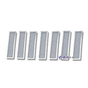 08 10 Jeep Liberty Main Upper Chrome Stainless Steel Mesh