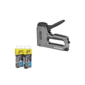 Light Duty Staple Gun with Staple Combo Pack