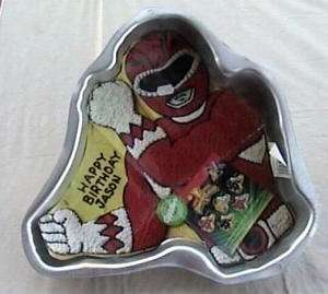 Wilton POWER RANGERS Cake Pan w/Insert Discontinued