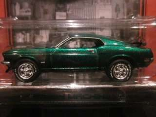 MUSCLE CAR GARAGE GREEN MACHINE 1969 FORD MUSTANG BOSS 302 RARE CAR