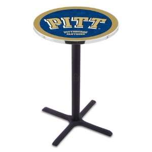 42 Pitt Bar Height Pub Table   Cross Legs Sports