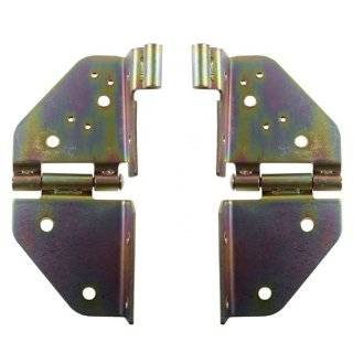 Kentrol Stainless Steel Windshield Hinge Set Pair With Holes 1976 1995