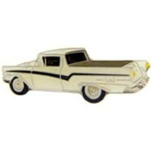 1957 Ford Ranchero White Car Pin 1 Arts, Crafts & Sewing