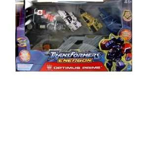 Transformers Energon Super  Optimus Prime Action Figure