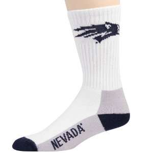 Nevada Wolf Pack Youth Tri Color Team Logo Tall Socks