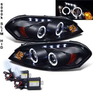 Kit+06 10 Chevy Impala 2X Halo LED Projector Head Lights Automotive