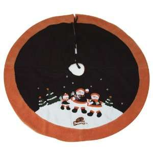 48 NCAA Oregon State Beavers Snowman Christmas Tree Skirt