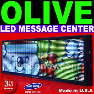 LED Sign Programmable Message Display Board 52x118