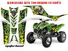 AMR DEKOR KIT KAWASAKI KFX 450 700 REAPER DECALS B Artikel im quad th