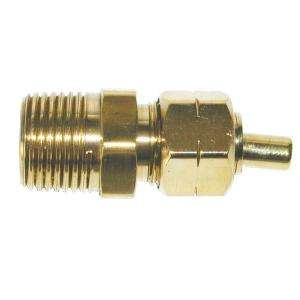 Watts 7/8 in. x 3/4 in. Lead Free Brass Compression x MIP Coupling LF