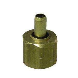 Watts 1/2 In. Brass Compression Nut With Insert A 204 at The Home