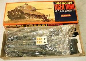 ARMY  German Tiger Tank made in 1964 by AURORA