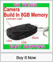 New Digital Spy Alarm Clock Camera Motion Detection DVR