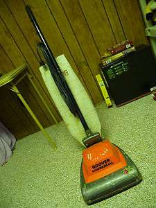 VINTAGE HOOVER COMMERCIAL VACUUM HEAVY DUTY