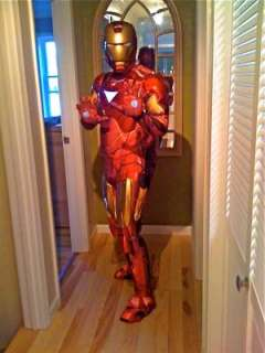 Iron Man 2 (2010) Movie   Iron Man Mark 6 Super Deluxe Adult Costume
