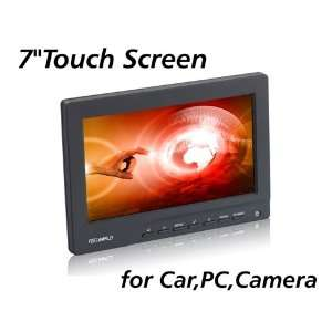 Feelworld 7 Inch TFT LCD Touch Screen Monitor for Car, VGA