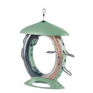 Food Court Bird Feeder Easy Adjustable Perches With 10 Sliding Seed