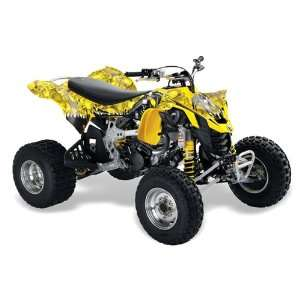 AMR Racing 2008   2011 Can Am DS450 EFI ATV Quad Graphic Kit   Reaper