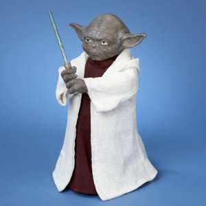 12 Star Wars Yoda with Light Saber LED Lighted Christmas