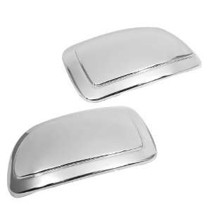 Triple Chrome Side Door Mirror Cover Trims Moulding for 02 06 Cadillac