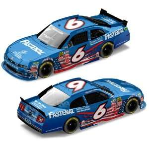 24 Nascar Diecast Ford Mustang Car W/Plastic Chassis Lnc Nx61823hhrt