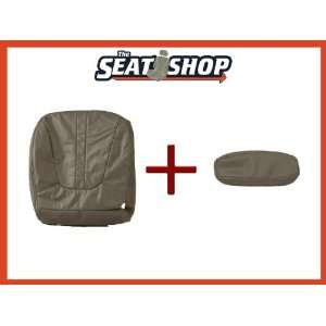 98 99 00 01 02 Ford Expedition Grey Leather Seat Cover LH & RH bottom