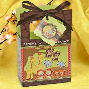 Jungle   Classic Personalized Baby Shower Favor Boxes Toys & Games