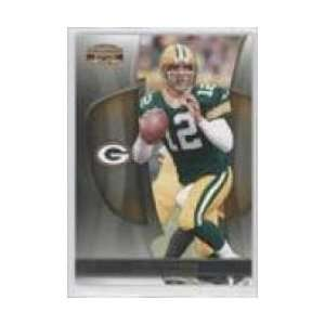 2009 Donruss Gridiron Gear #1 Aaron Rodgers   Green Bay Packers