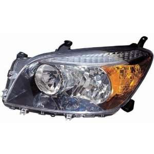 Spot Package) Replacement Headlight Unit Black Bezel   Passenger Side