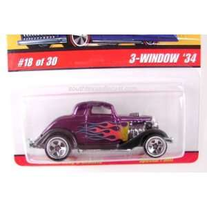 Hot Wheels Classic 3 window 34 Die cast Car J2774 #18 Toys & Games